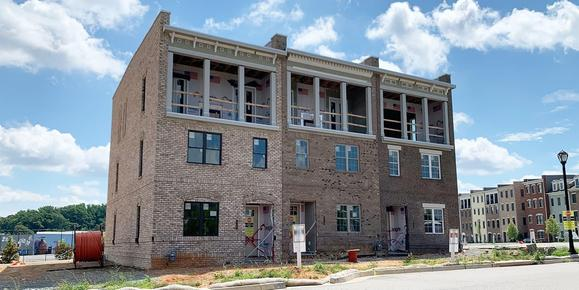 Eagle Construction GreenGate Davenport Floorplan:Move-In Ready 3 Story Townhome