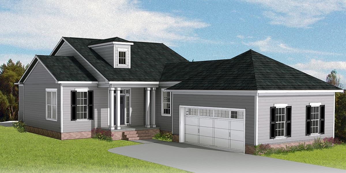 Eagle Construction Easton Floorplan:Traditional