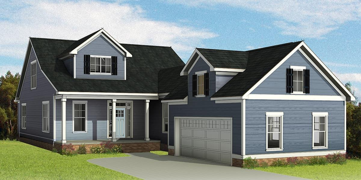 Eagle Construction Stamford Floorplan:Cottage