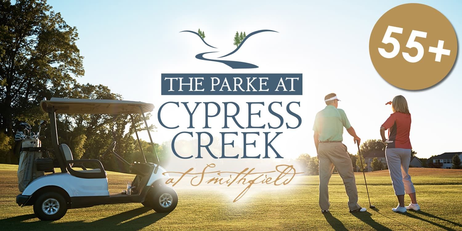 Eagle Construction Parke at Cypress Creek:55+ Community in Smithfield
