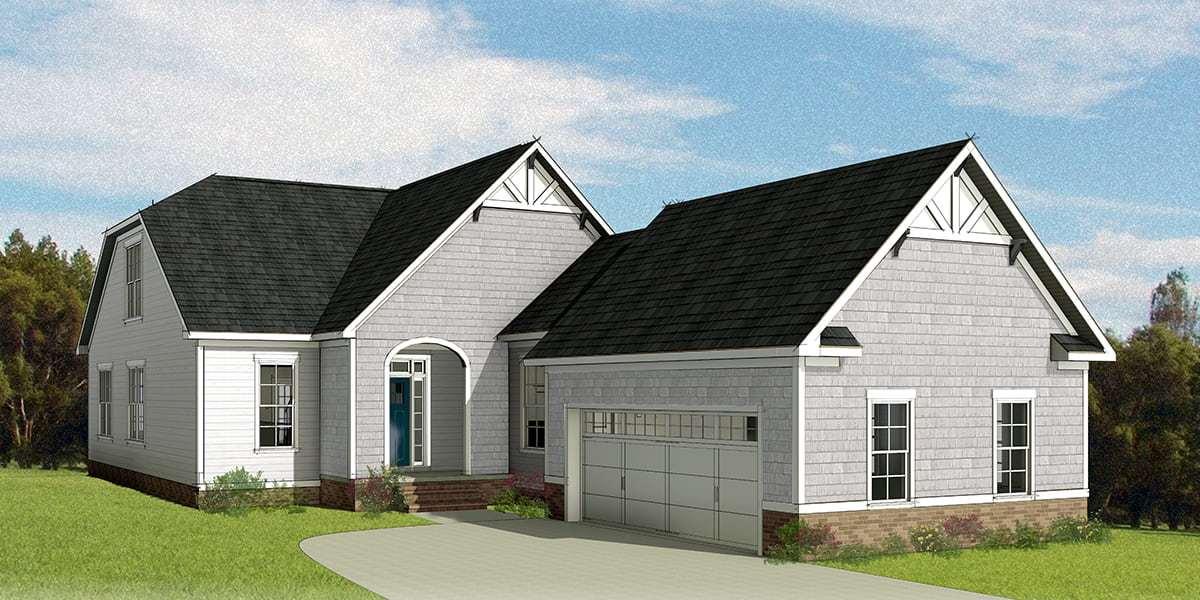 Eagle Construction Acton Floorplan:New England