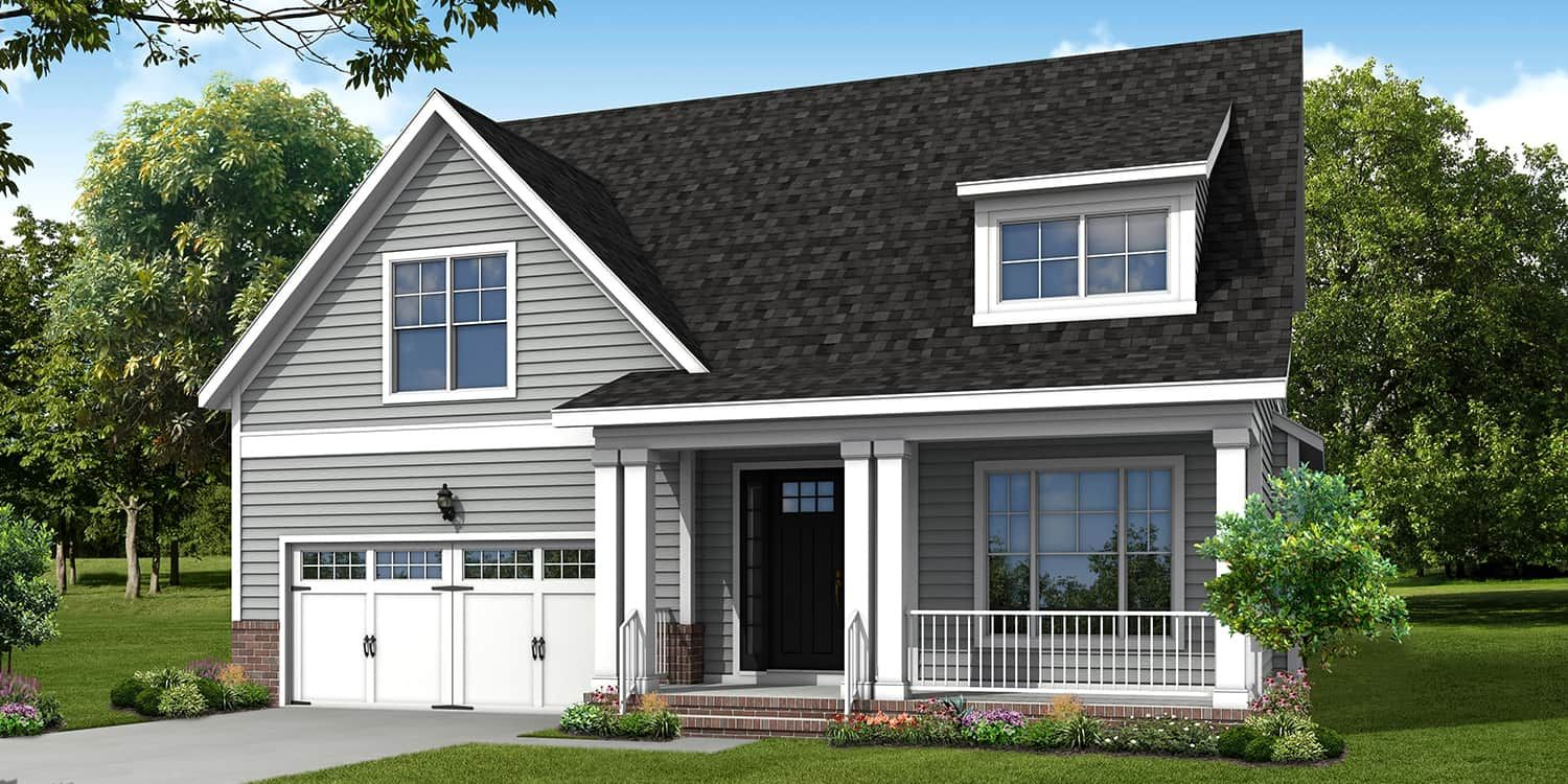 Eagle Carlisle Floorplan:Traditional Architectural Style