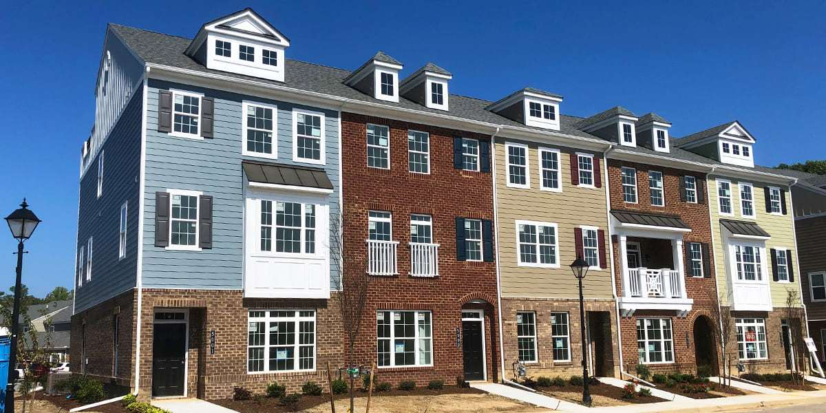 Village Walk Move-In Ready Townhomes:Homesites 76-80 Exterior