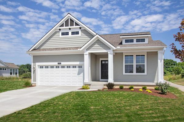 Elevation A:Select from a variety of exterior elevation options.