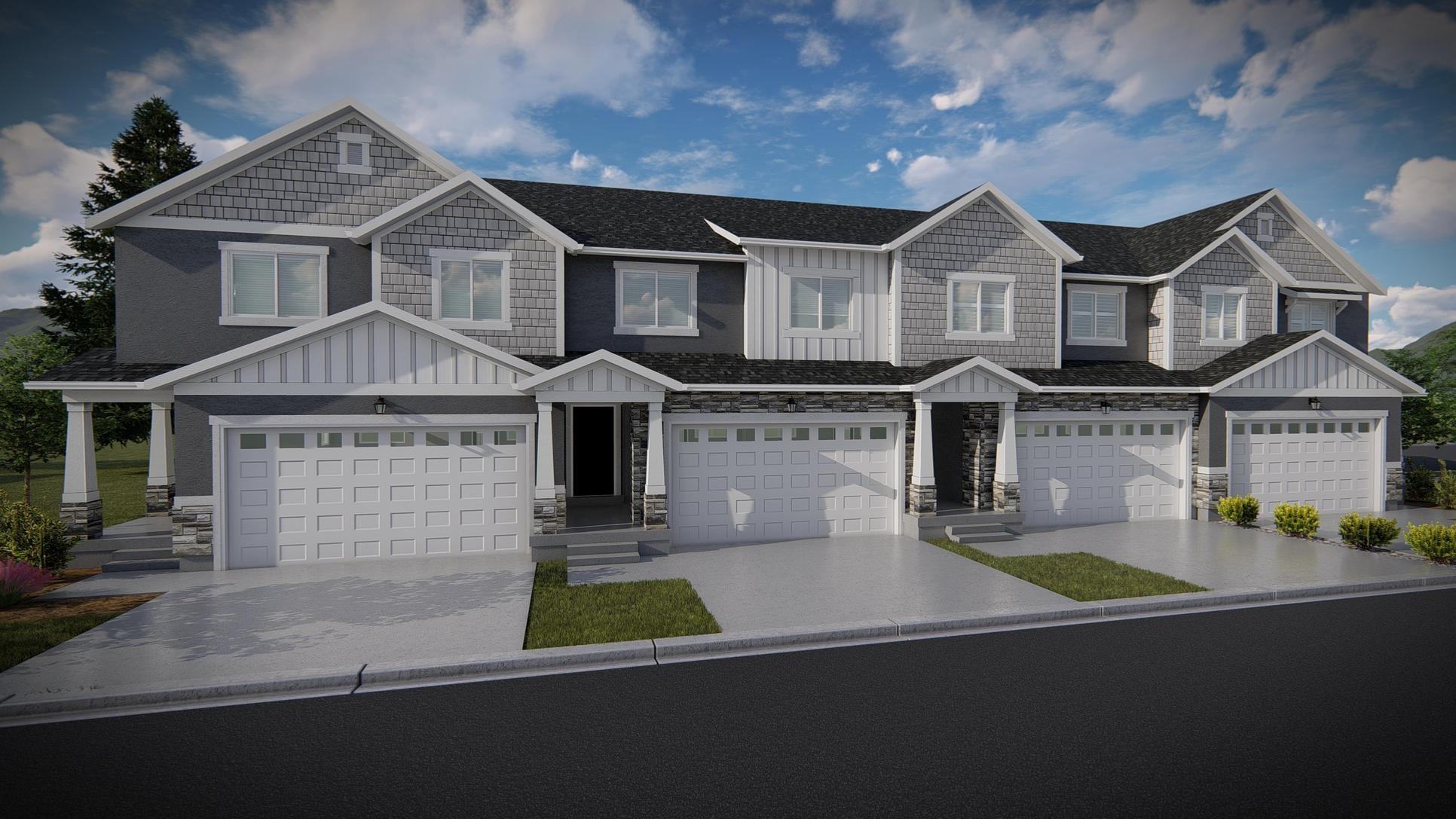 Interior Townhome:Bailey Elevation
