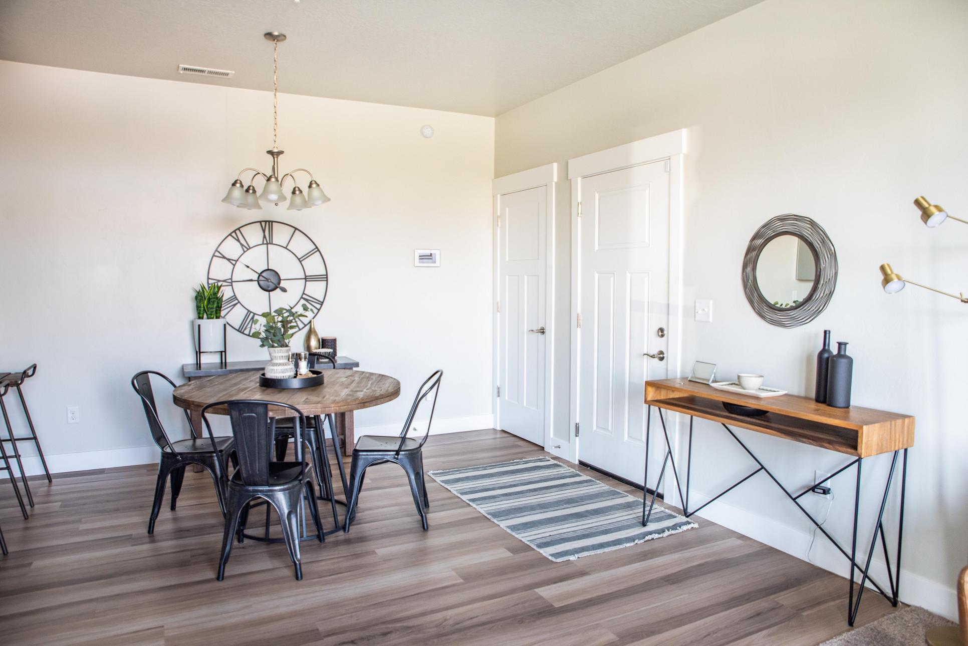 Condominium Main Level:Dining Room and Entry