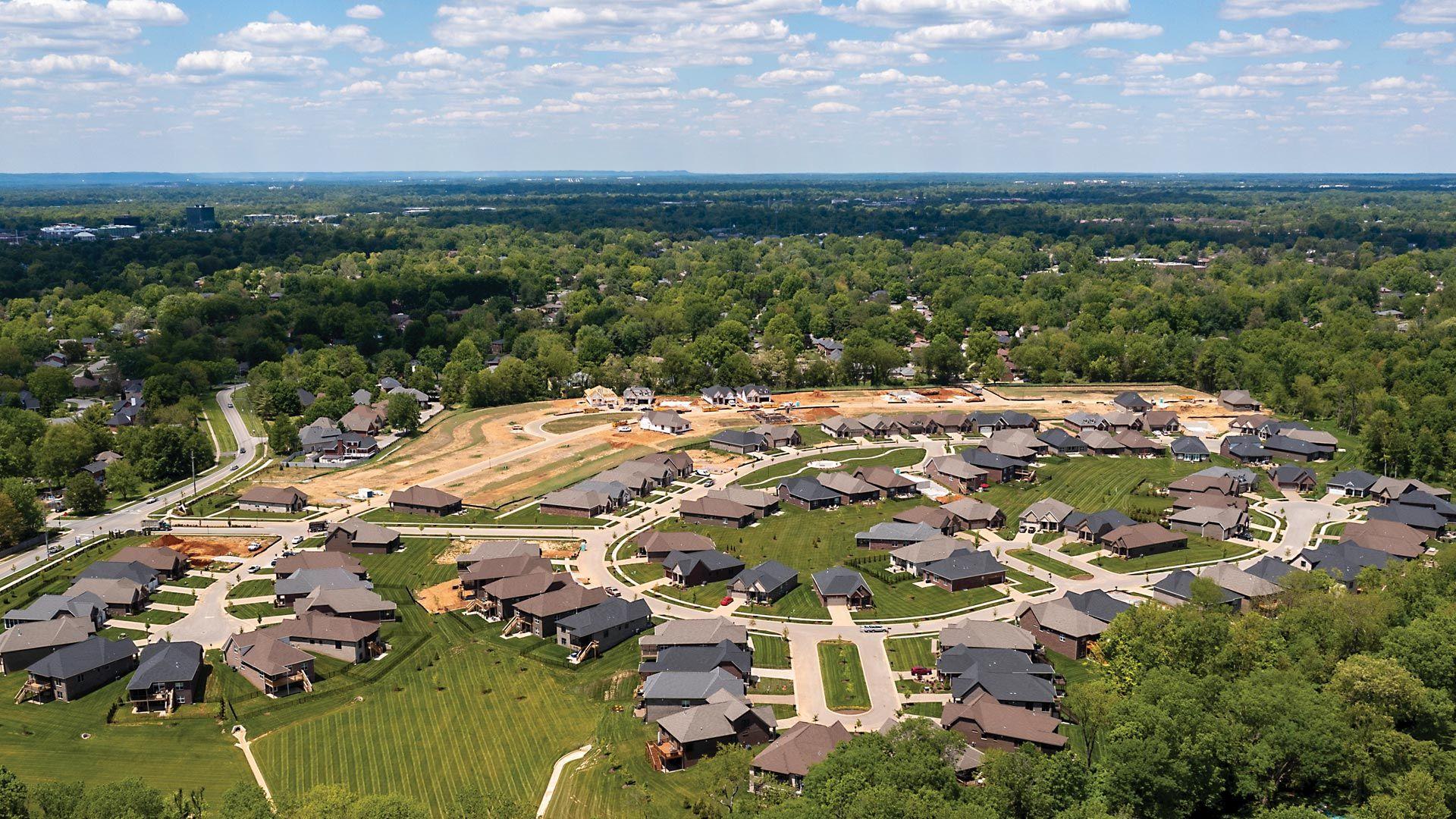Enclave at Douglass Hills Aerial:Enclave at Douglass Hills