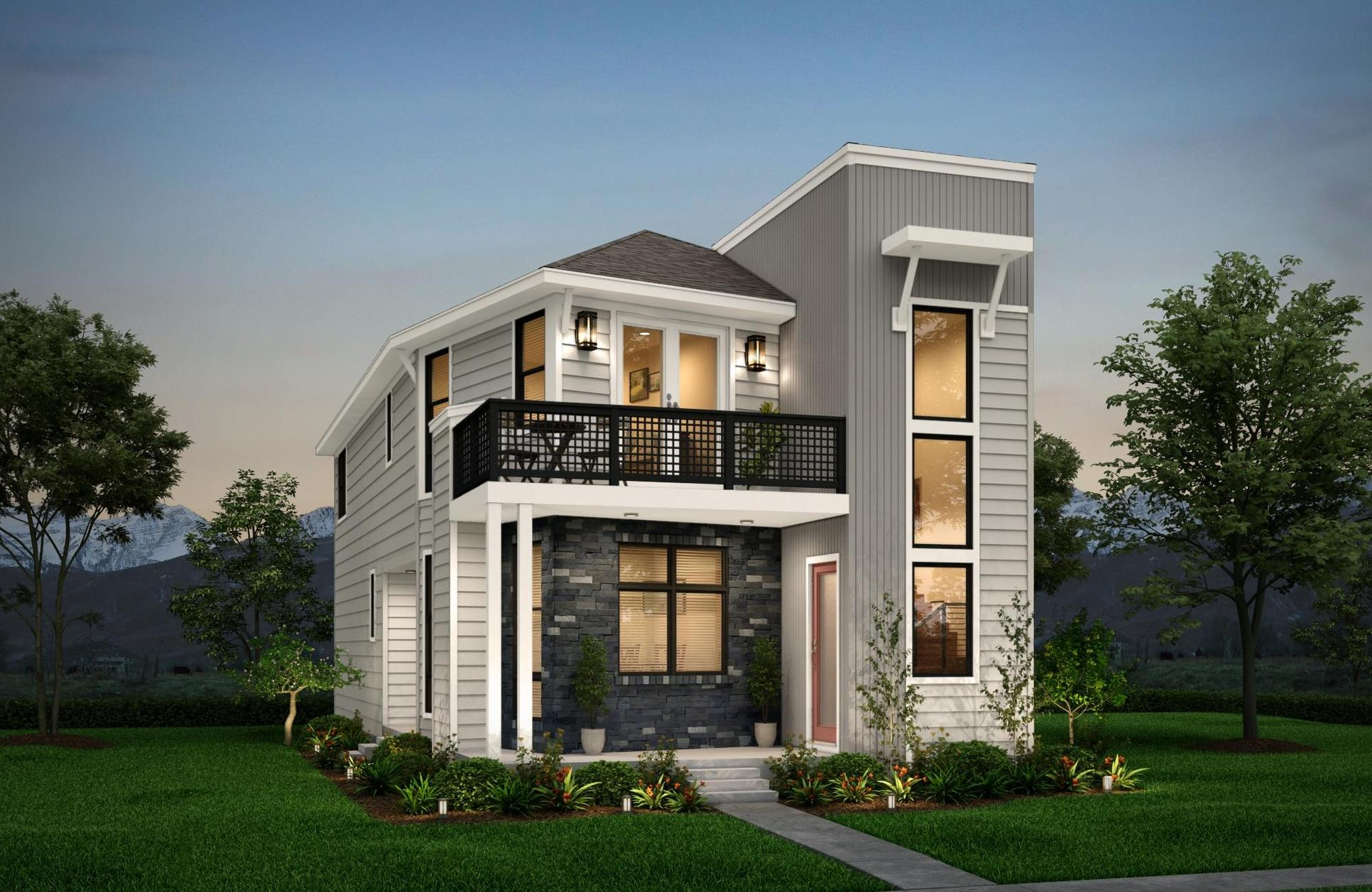 Ignite - Modern Foothills:Epic Homes' brand new designs, created specifically for Painted Prairie, offer a diverse range of options, including three-story options with Epic Elevated.