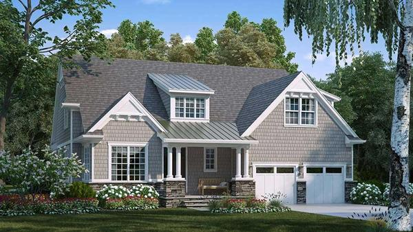 New Haven:Shingle Elevation