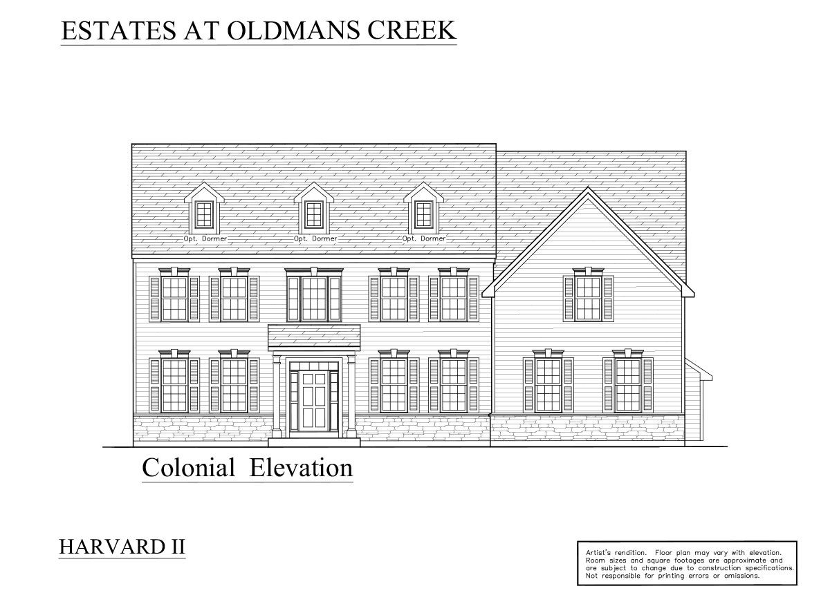 Colonial: Pricing starting at $459,900