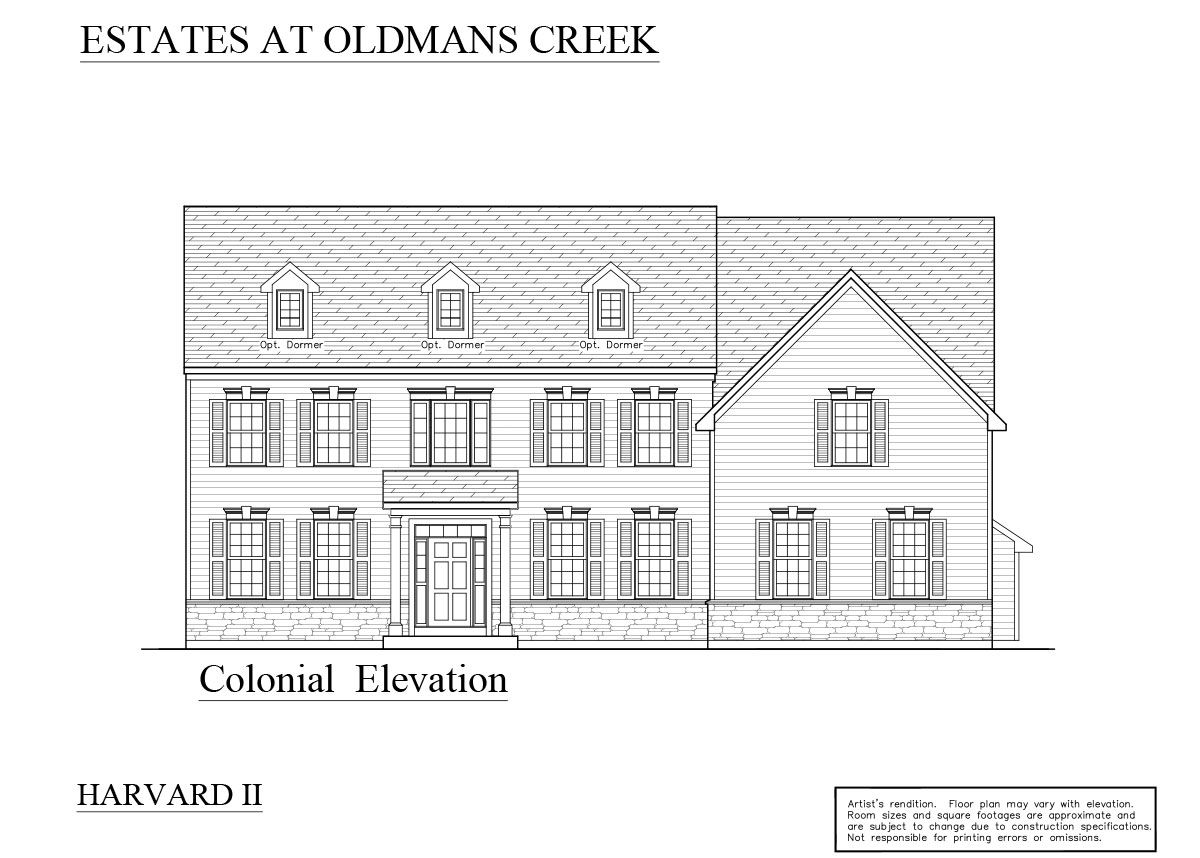 Colonial: Pricing starting at $479,900