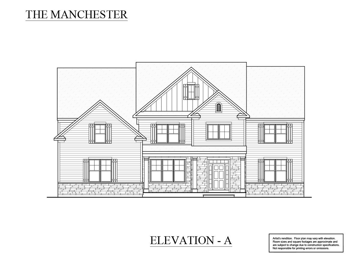 Elevation A: Pricing starting at $629,900