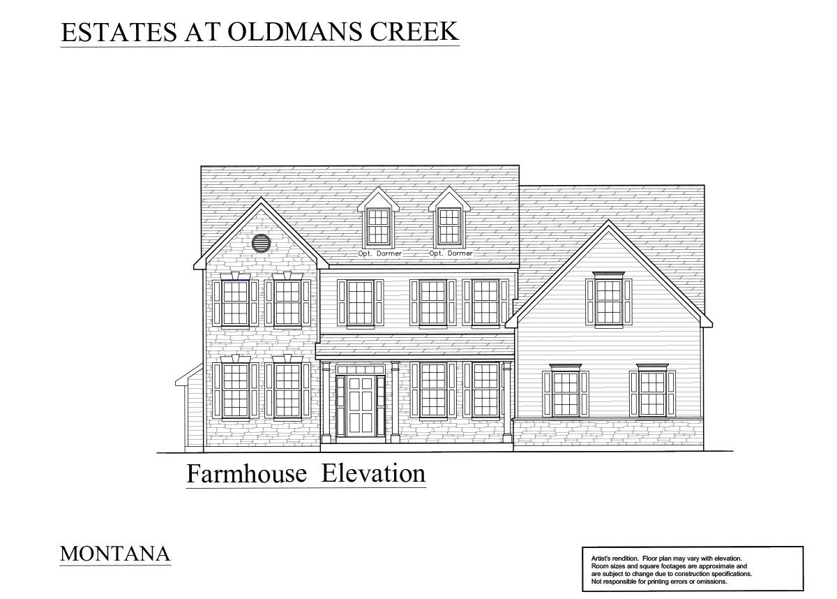Farmhouse: Pricing starting at $412,900