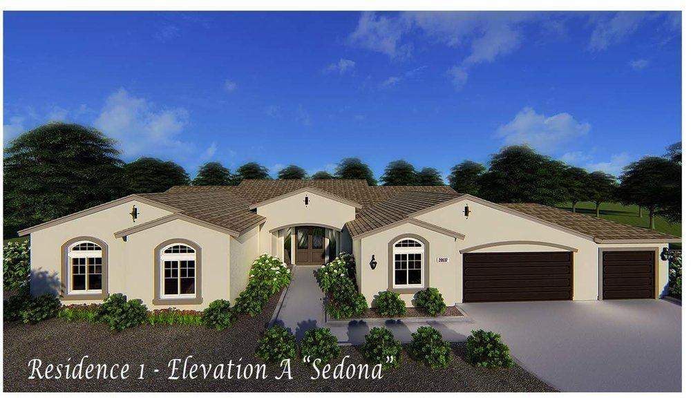 Residence 1:Elevation A