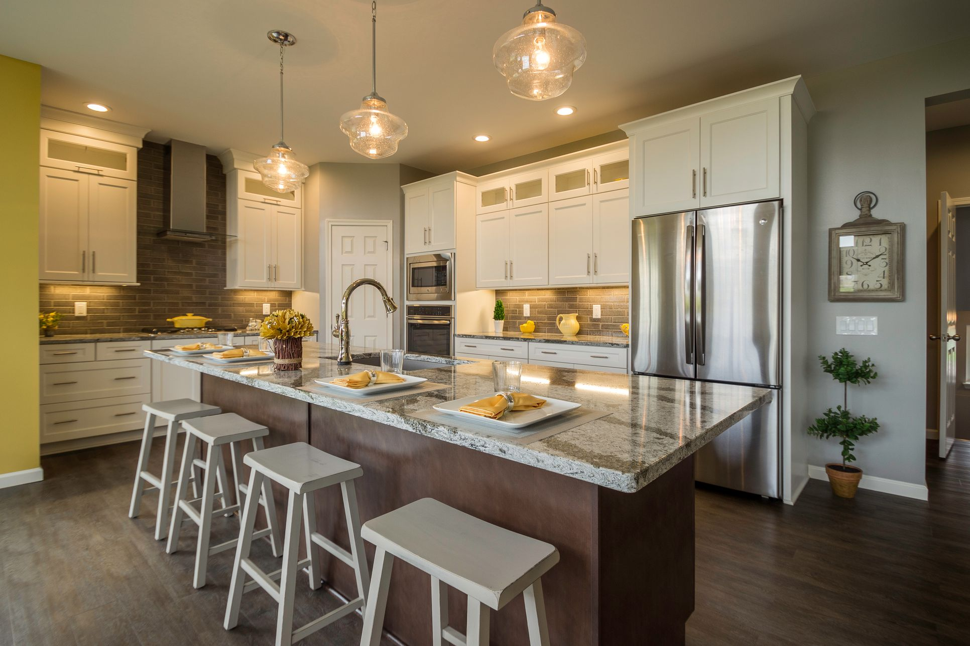 McMillon Model Home Kitchen:McMillon Model Home Kitchen