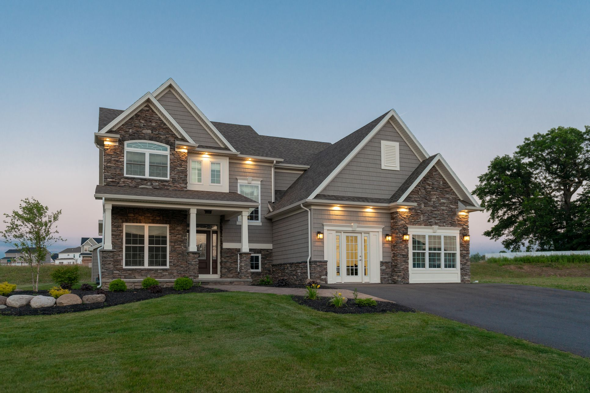 McMillon Exterior with Sales Office:McMillon Exterior with Sales Office