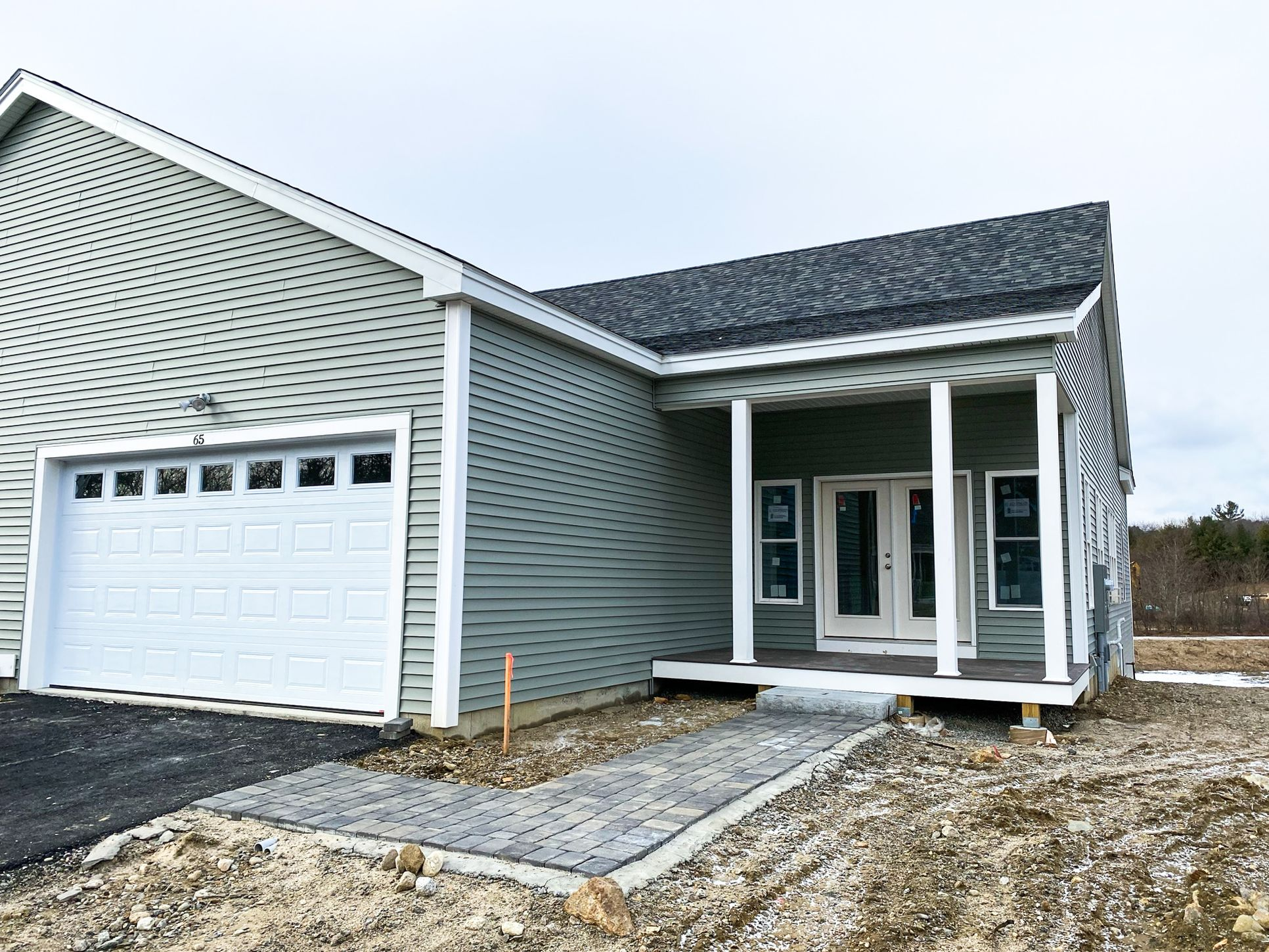 Robert Frost Twin Townhouse:Almost Completed