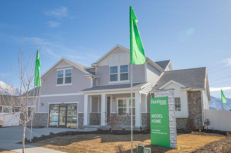Legacy Farms Estates:Model Home