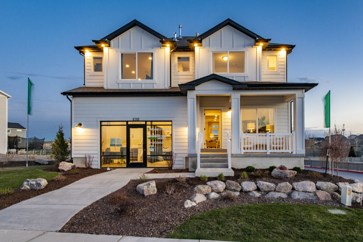 The Oquirrh Model Home:Model Home