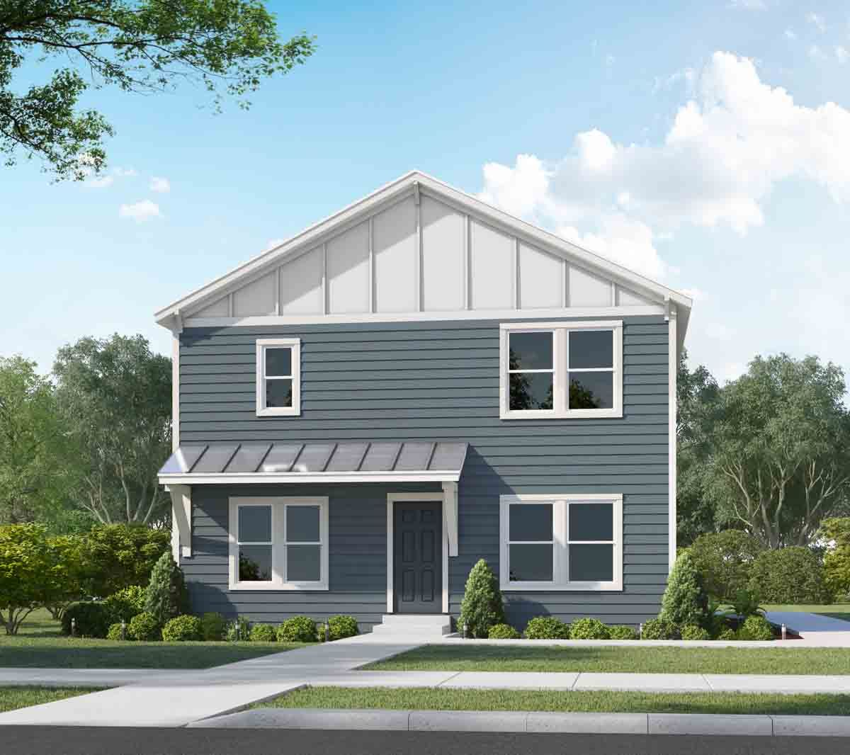 The Hampton with Options:Rendering