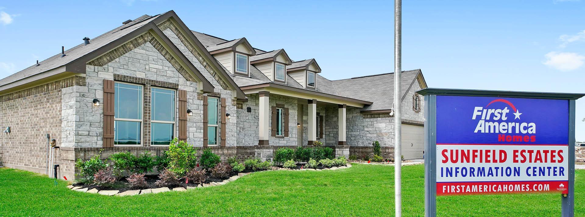 Sunfield Estates:First America Homes