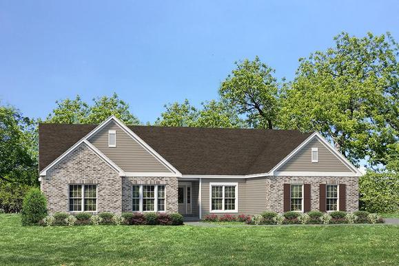 Exterior:Estate I Durham II I Elevation II