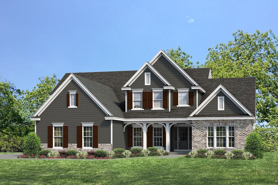 Exterior:Estate I Parkview II I Elevation II