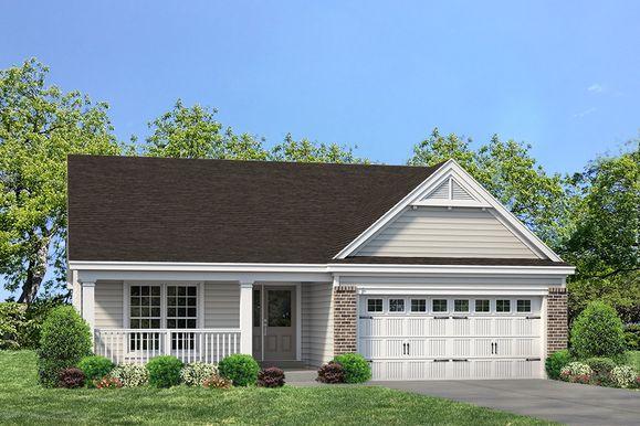 Exterior:Brookmont I Manor I Elevation I