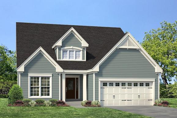 Exterior:Waverly  I Manor I Elevation I