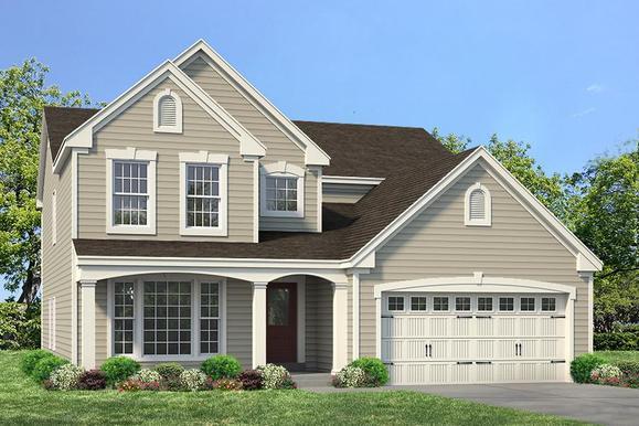 Exterior:Carver I Manor I Elevation I