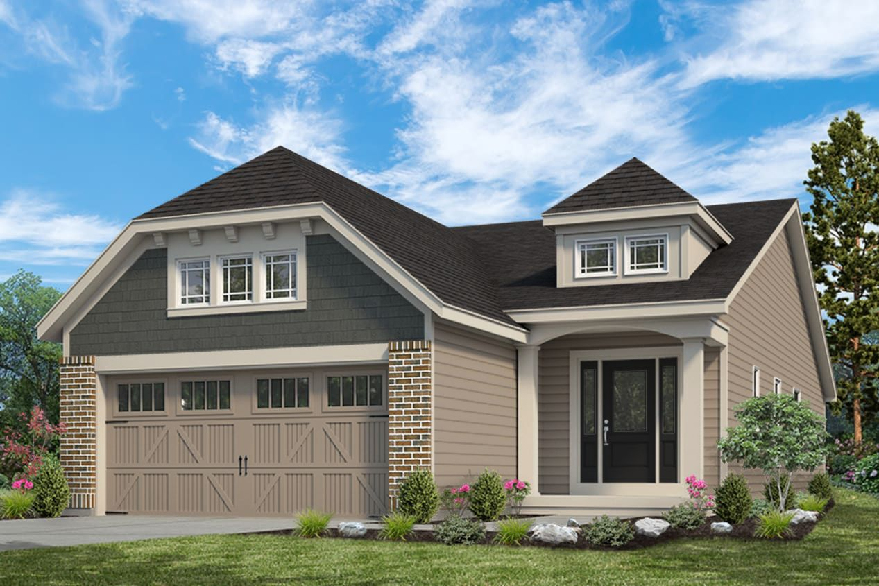 Exterior:Ashland/Highland I Villa I Elevation I
