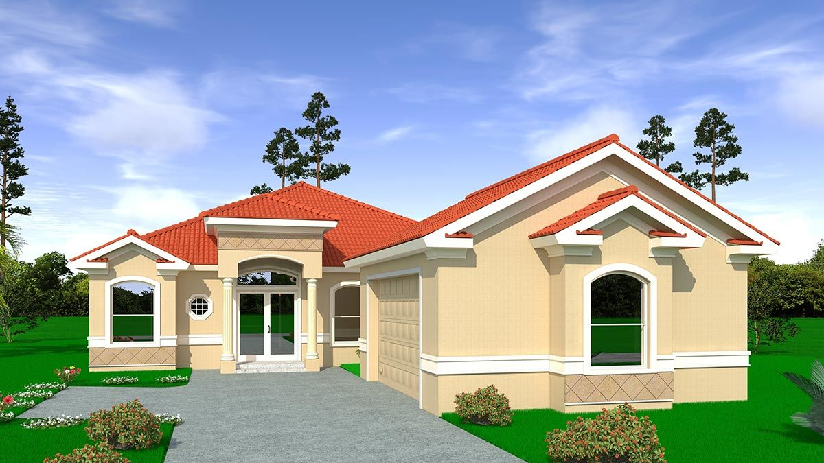 MEGAN. Certified Green home:Front view