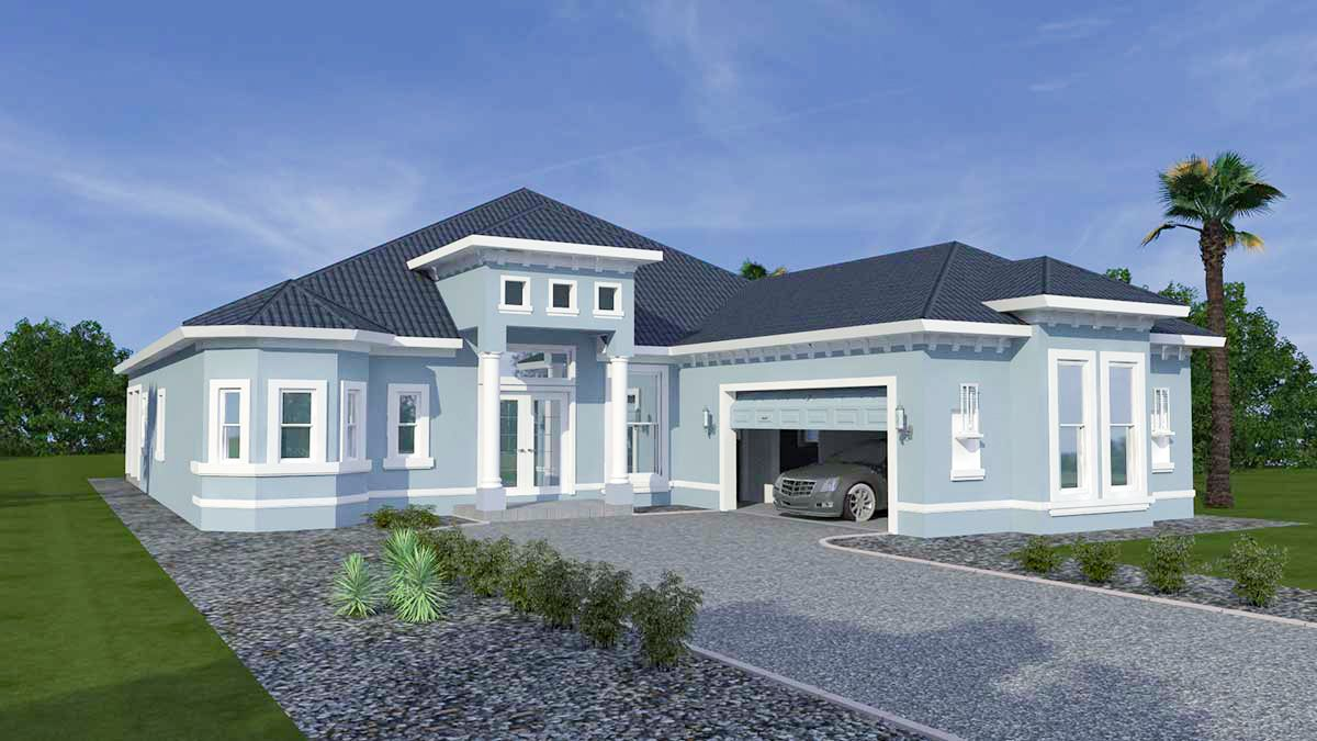 AMANDA. Certified Green home:Front view