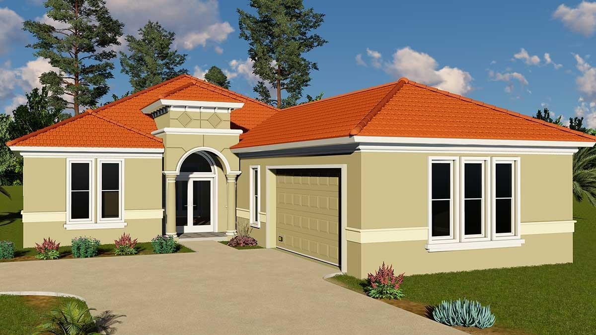 DIANE. Certified Green Home:Front view