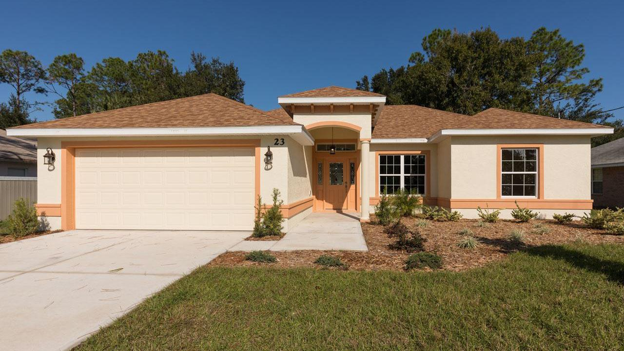 DANIELLA. Aging-In-Place Certified Green home:Front view