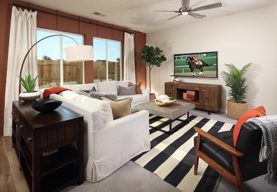 Living room :Skyline