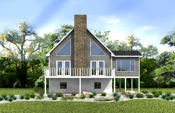 Seneca Rendering:Our Seneca model is a beautiful two story chalet home, perfect for both vacationing and year round living!