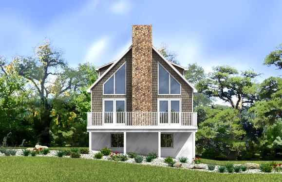 Hunter Rendering:Check out our stunning Hunter chalet! You'll never want for space in this beautiful mountain home!