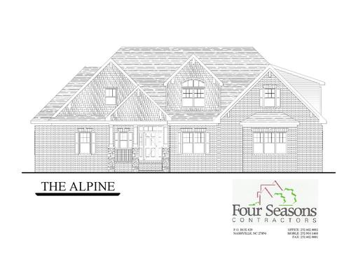 The Alpine Front Elevation