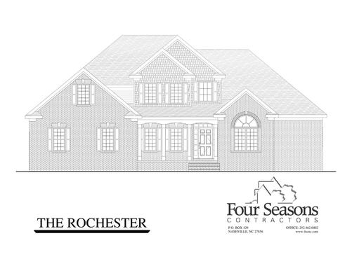 The Rochester :Front Elevation