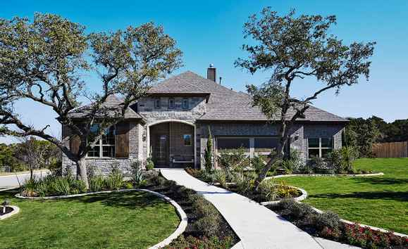 Leander Crossing Community:Yale Exterior
