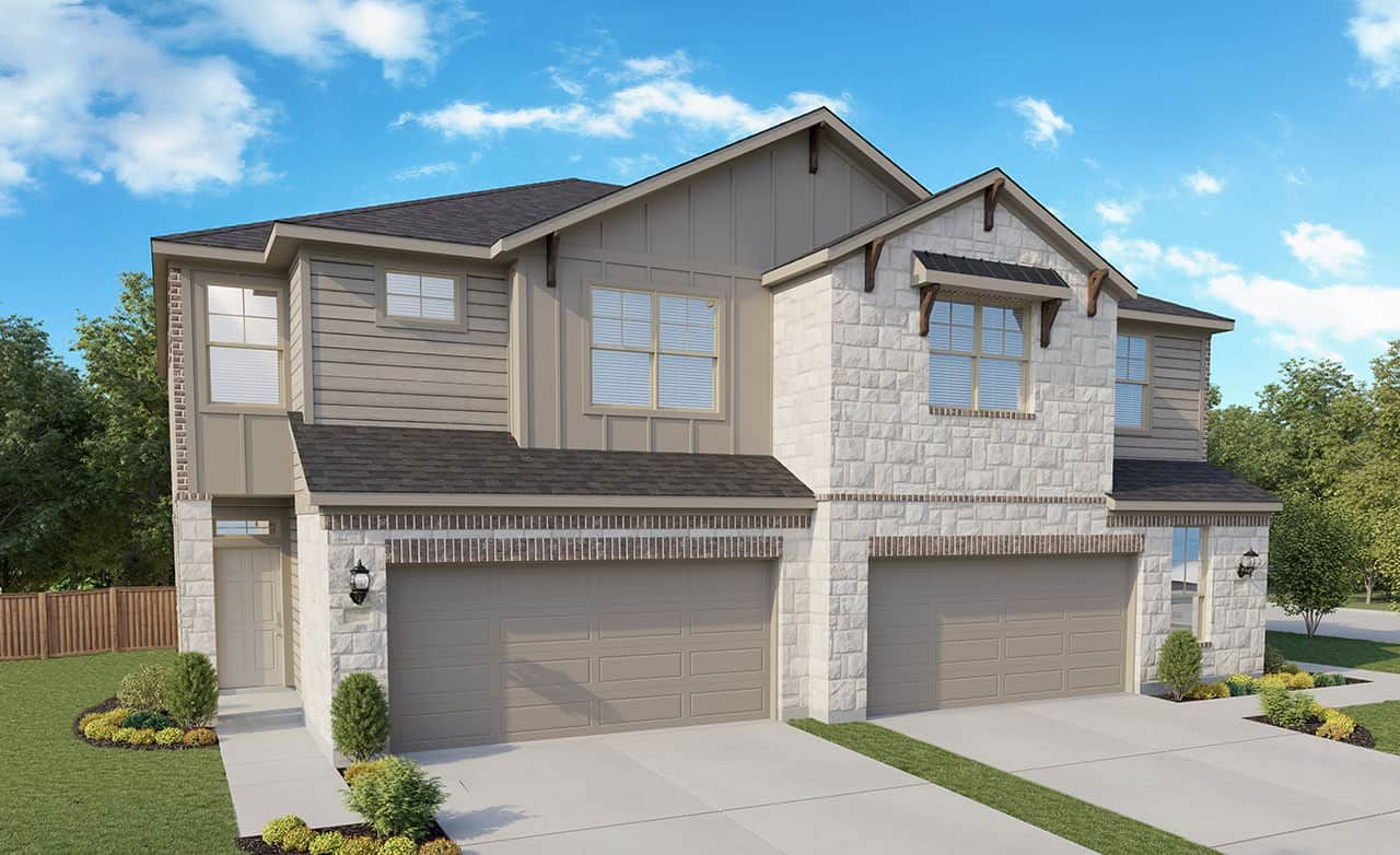 Homestead Community:Townhomes – Exterior