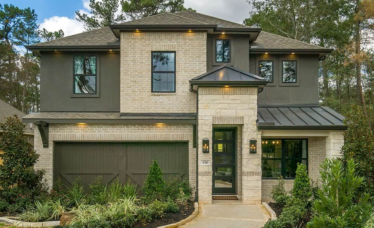 The Woodlands Hills Community:Capri II – Exterior
