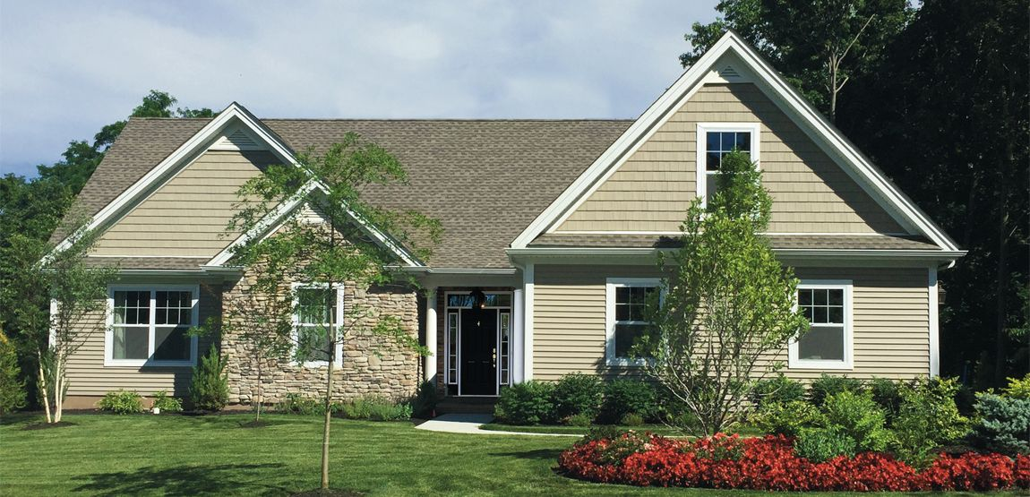 The Aster:2 bedroom ranch with an optional 3rd bedroom ranch home that provides an open plan.