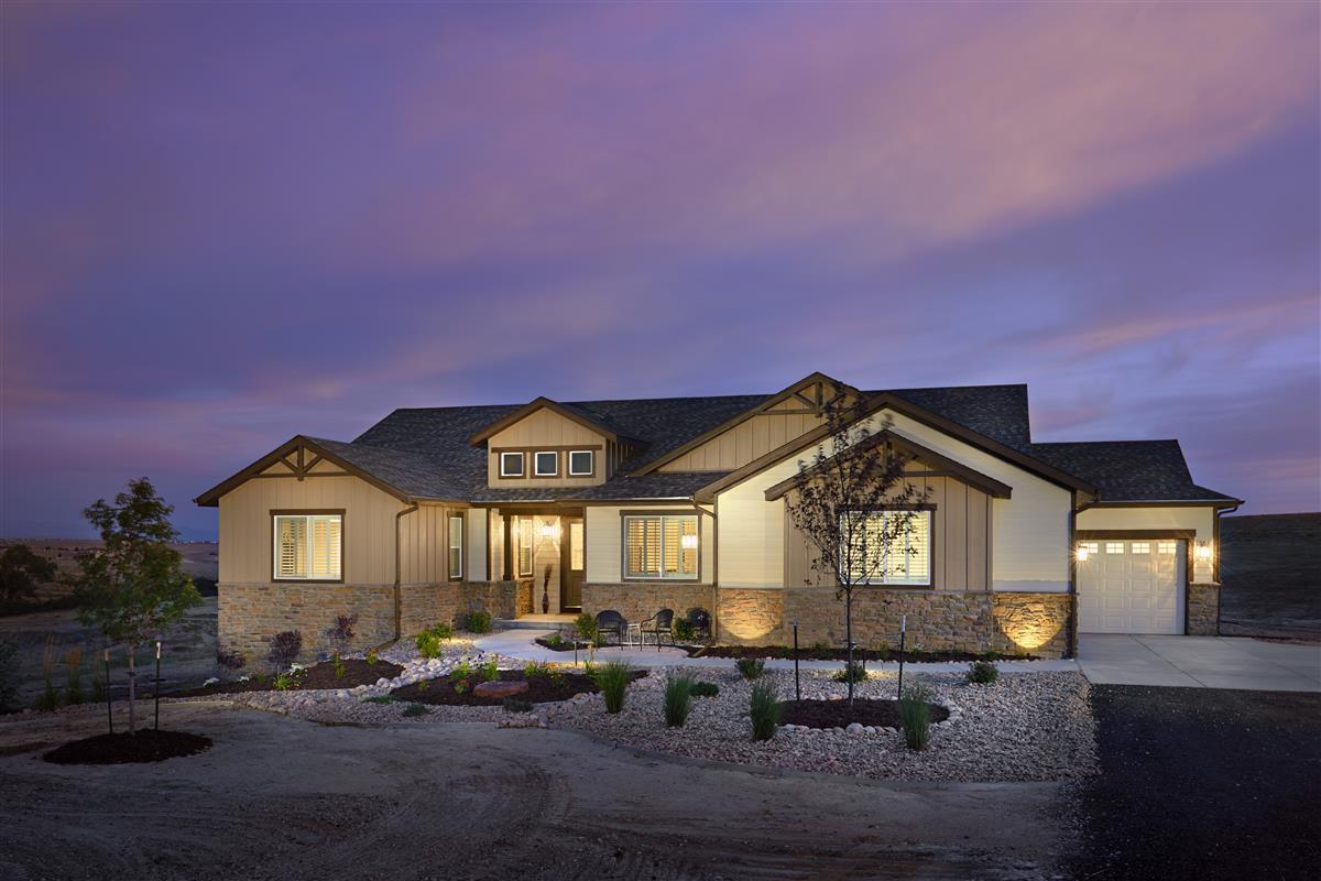 NOTE: Images may depict landscaping and upgraded fixtures, features, facades or finishes and other i