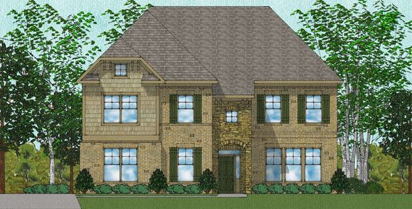 Exterior:Worthing - Elevation D