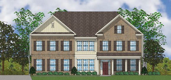 Exterior:Patterson II - Elevation A Side Entry