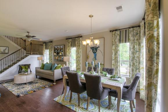 Exterior:The Everleigh Living & Dining Area (This is a model representation, not the actual home)