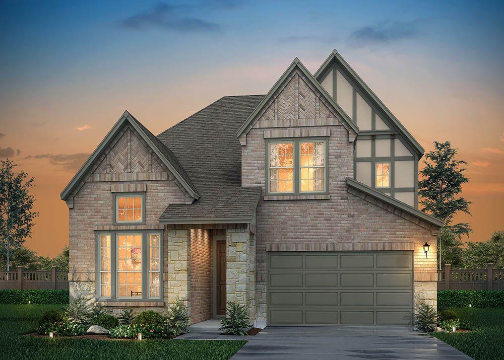 Exterior:Oak D - Tudor