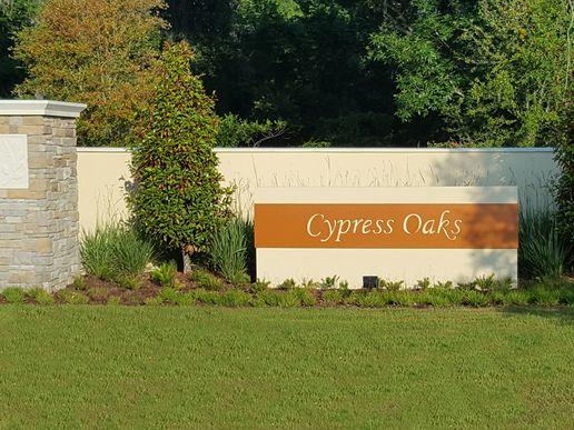 Cypress Oaks entrance:Cypress Oaks entrance